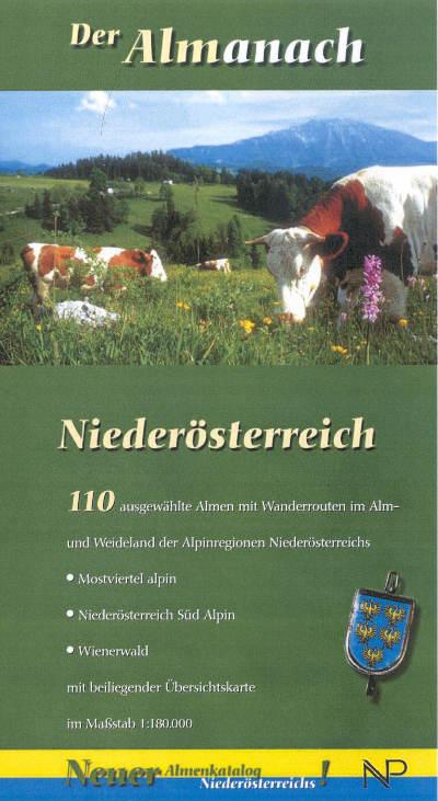 Niederösterreich Almanach Vorderseite