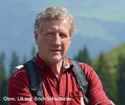 Obmann LRE Ing. Erich Schwärzler