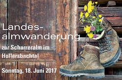 Landesalmwanderung Salzburg 2017